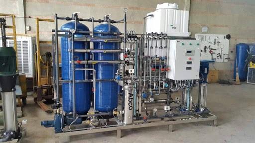 تولید کننده آب شیرین کن صنعتی